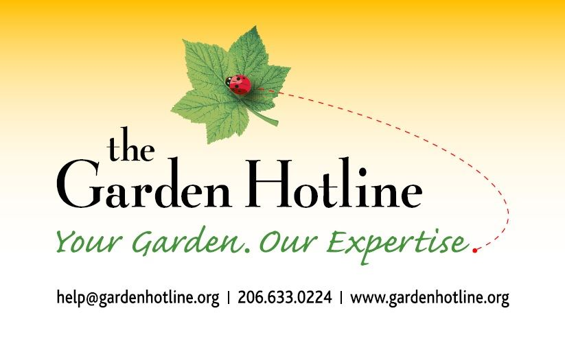GardenHotline Yellow Logo with contact info
